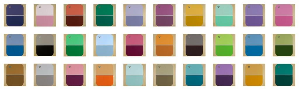 Disney Colour Project..